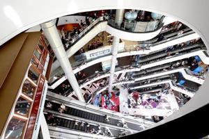Bangkok, Thailand, Dec 31, 2019 - Shopping mall interior photo