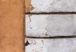 Textura del viejo muro de hormigón sucio foto