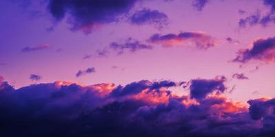 Área de nubes dramáticas para el fondo foto