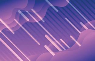 Abstract Shape Purple Background vector