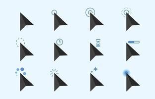 Mouse Cursor Concept vector