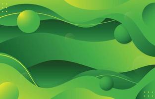 Modern Green Background vector