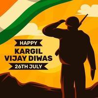 Veterans Day India vector