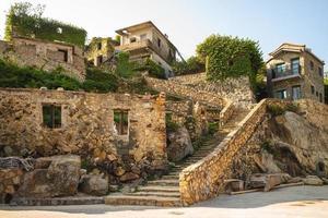 Stone stairway of Jinsha Village in Nangan island, Matsu, Taiwan photo
