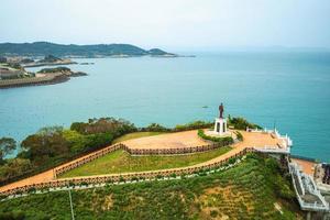 Nangan island near Fuao harbor in Matsu, Taiwan photo
