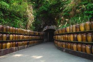 Entrance of Tunnel eighty eight at Nangan island, Matsu, Taiwan. photo