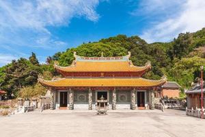 Facade of Tianhou temple in Matsu, Taiwan photo