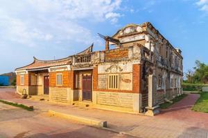 Beishan antigua casa de estilo occidental en kinmen, taiwán foto