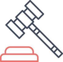 Gavel Vector Icon
