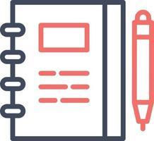 Notebook Vector Icon