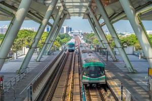 Mass rapid transit system in Kaohsiung, Taiwan photo