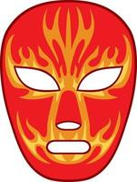 Mexican Wrestling Mask vector