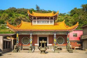 Yang gong ba shi Temple in beigan, Matsu, Taiwan. photo