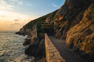 Dahan Stronghold at Beihai scenic area in Nangan island, Matsu, Taiwan photo