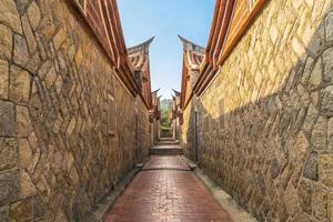 aldea de la cultura popular de shanhou en kinmen, taiwán foto