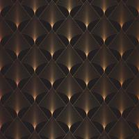 seamless tile art deco pattern background vector
