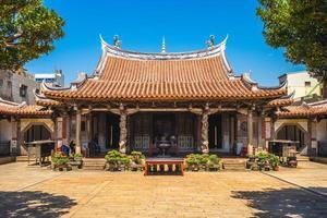 templo de lukang longshan en changhua, taiwán foto