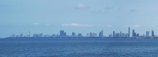 Pattaya cityscape in Thailand. photo