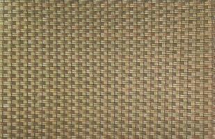 Patrón de cestería de fondo de textura de tejido de bambú. foto