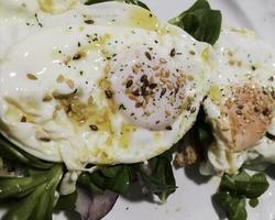 Egg toast with avocado photo