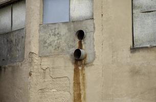tuberías de agua oxidadas foto