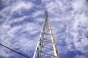 energía de la torre eléctrica foto