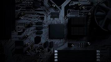 Circuito de renderização 3D do loop de dados de transferência de inteligência artificial video