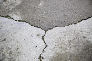 Broken street floor photo