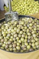 Olives with Garlic photo
