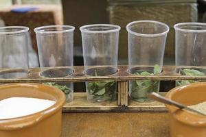 Glasses of mojito photo