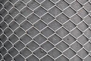 patrón de rejilla metálica y fondo de textura foto