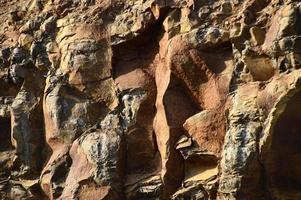 textura de piedra sin fisuras. primer plano de piedra foto