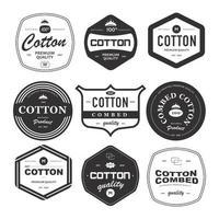 Premium Quality Cotton Product vector
