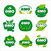 Non GMO Natural Food vector