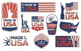 Made In USA Product vector
