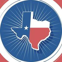 Texas Map Background vector