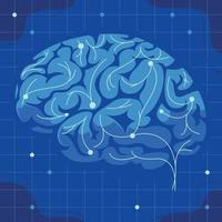 Complex Brain Neuron vector