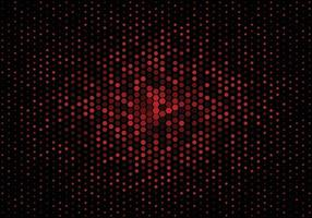 Abstract Technology Halftone Gradient Background vector