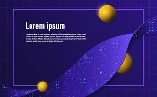 Futuristic flow abstracts. Complementary theme concept background.vector and illustration vector