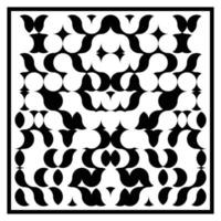 Symmetric Abstract Pattern vector