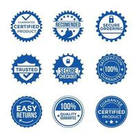 Trusted Certificate Stamp Collection vector