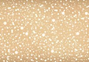 Seamless Gold Abstract Background With Lights And Halos. Vector Illustration. Horizontally And Vertically Repeatable.