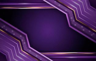 Modern Premium Luxury Golden Purple vector