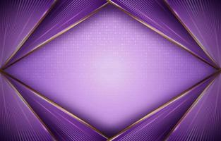Modern Premium Golden Purple vector