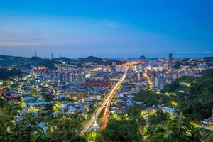 Cityscape of Keelung, Taiwan photo
