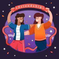 Friendship Appreciation Day vector