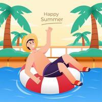 Summer Holiday Activity vector