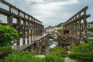 Shipyard Ruin at Keelung, Taiwan photo
