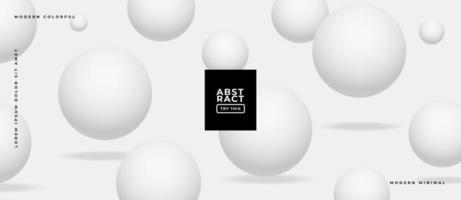Realistic White Monochrome Background. vector
