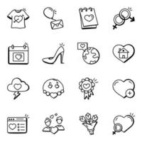 Pack of Dating vector